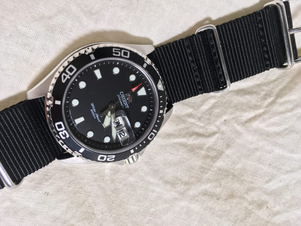 Orient Ray Sapphire Glass Modified Extra Edition Pt 9 Seiko