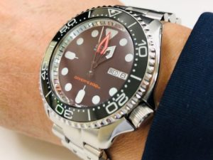 "Re:DIVER'S skx007 ""Black-Boy"" MOD - SEIKO 5  club"